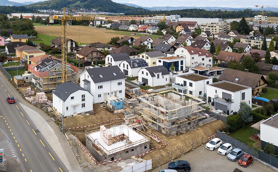 Baustellenfoto Mägenwil