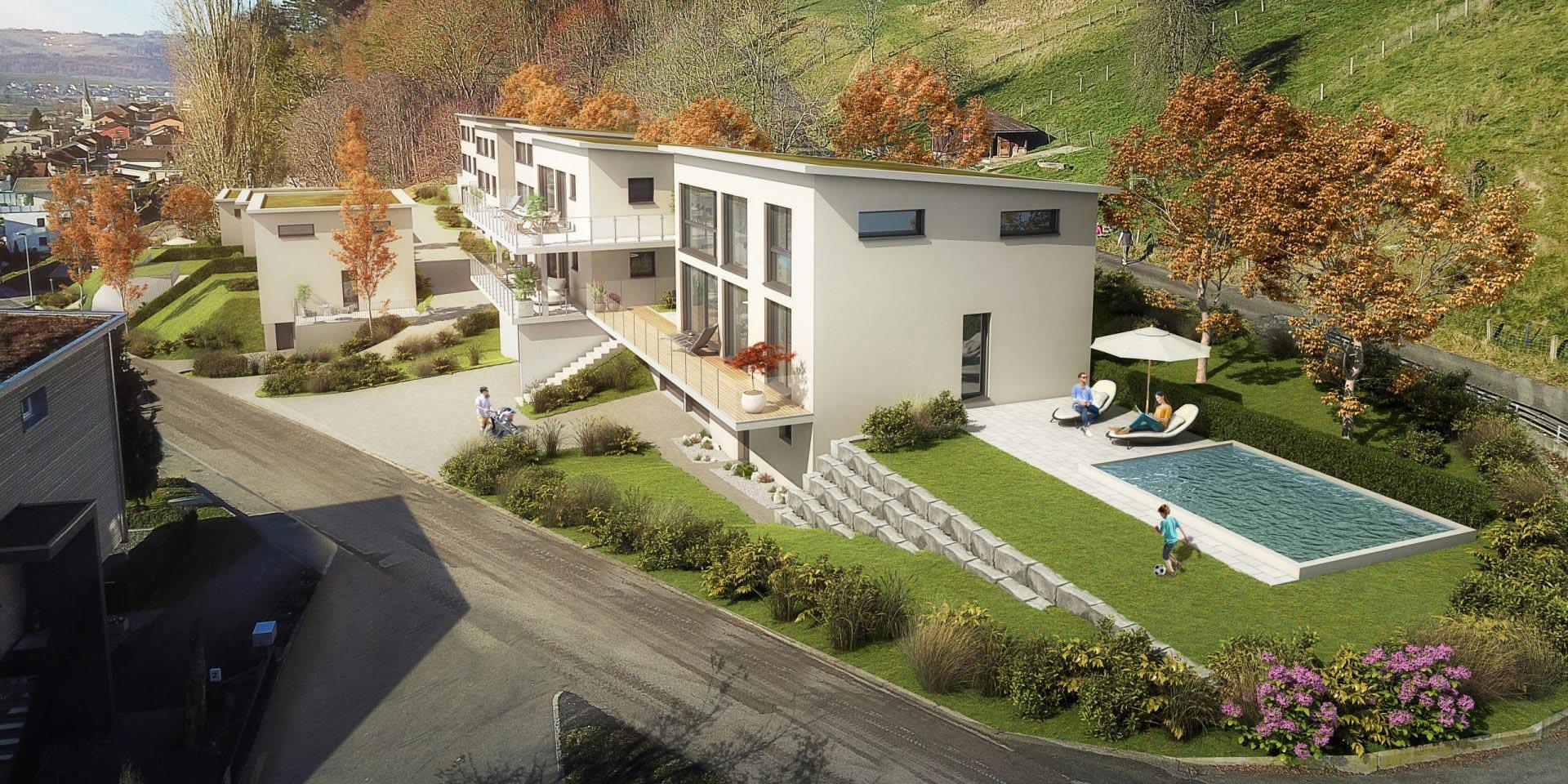 Haus bauen mit Bauland
